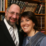Rabbi Ian Goodhardt and Sharon Goodhardt